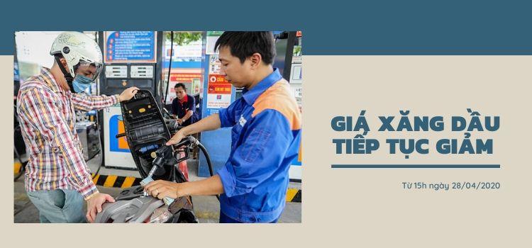 Giá xăng dầu ngày 28/4/2020