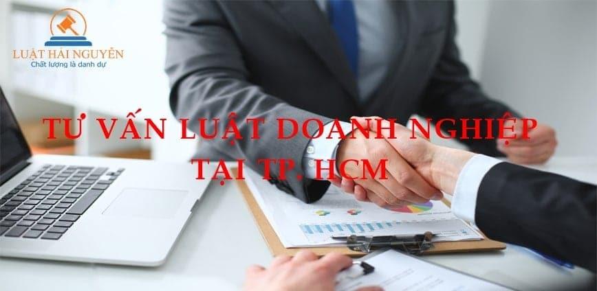 Tư vấn luật doanh nghiệp tại hcm