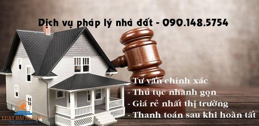Tư vấn pháp lý nhà đất tại HCM